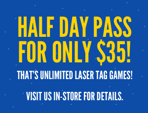 half-day pass for only $35